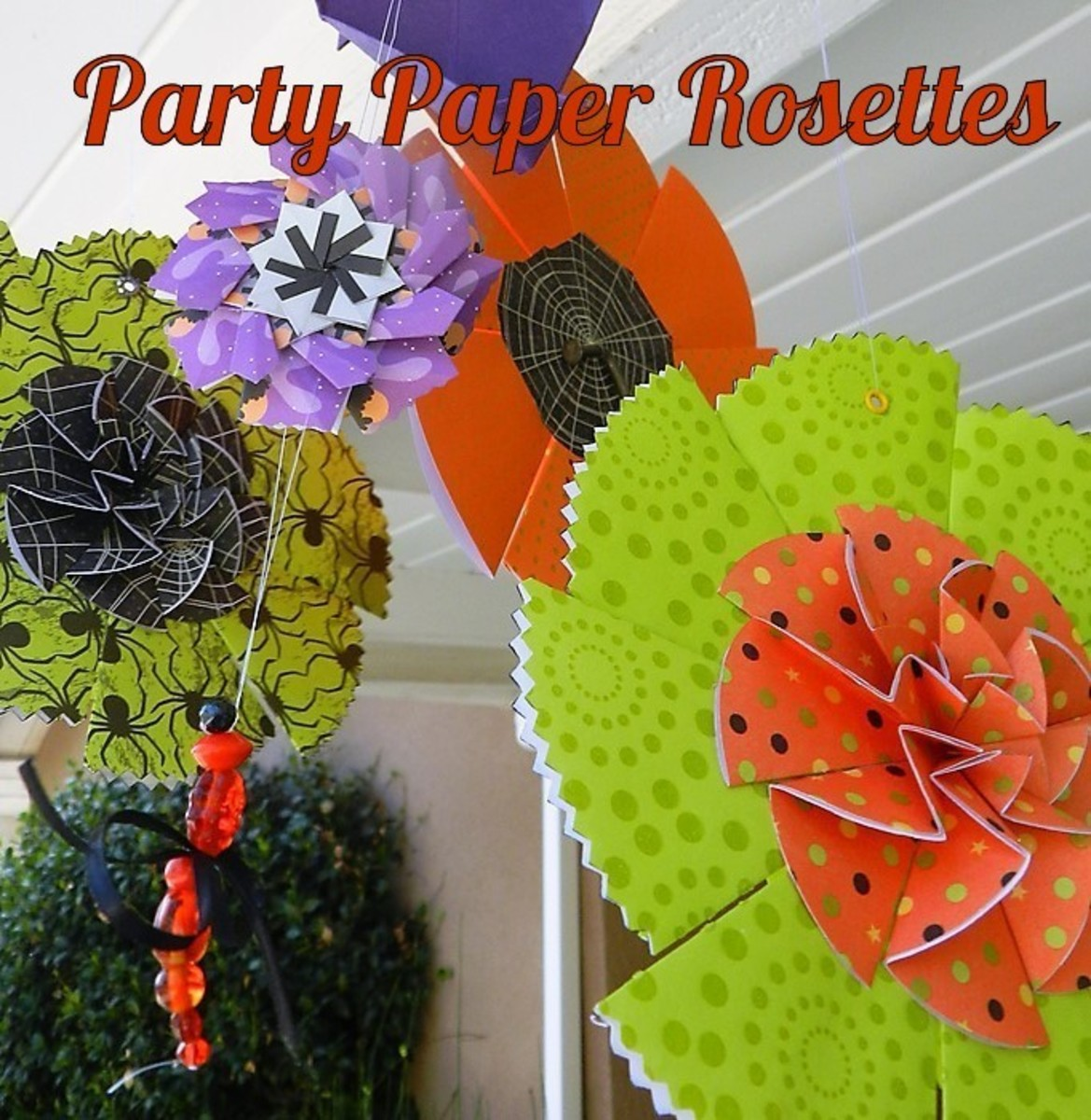 How to Make Paper Rosettes for Party Decor