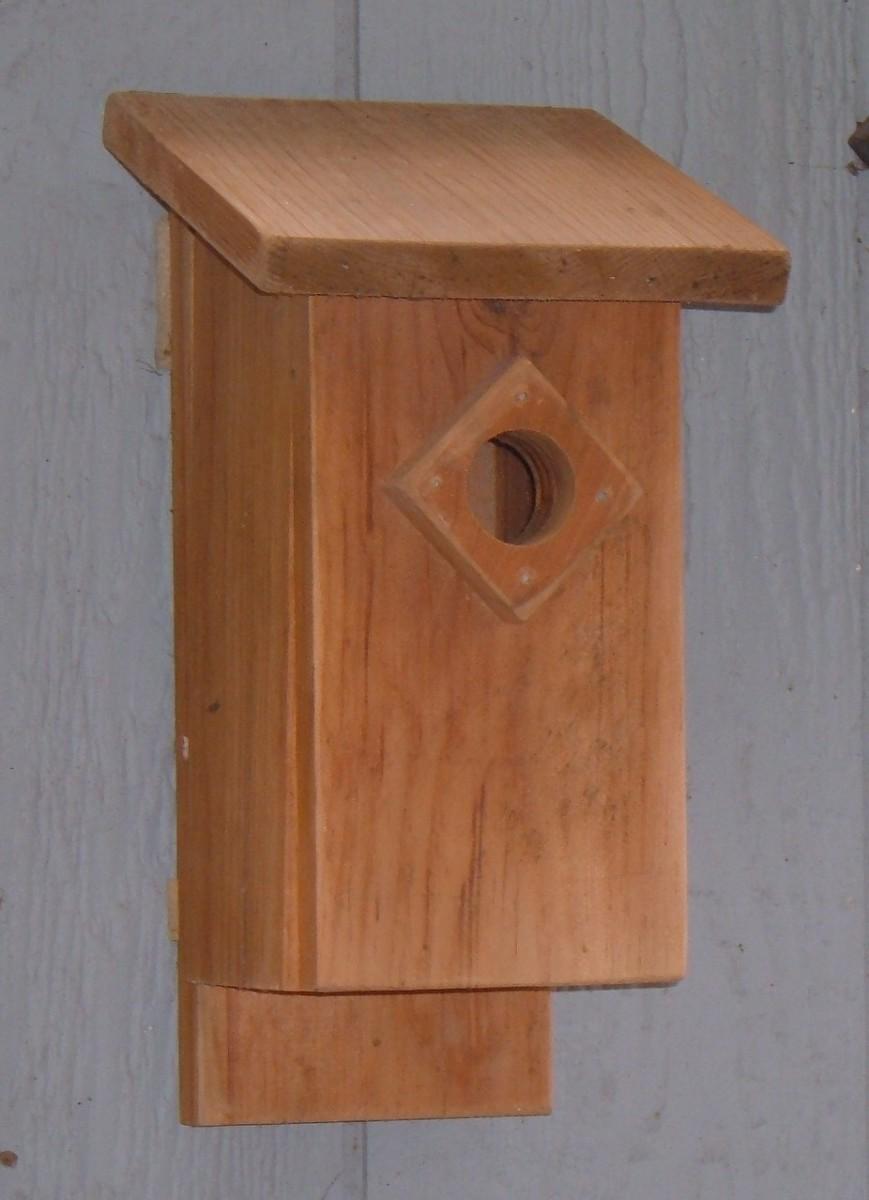 How To Build A Bluebird House Nest Box Plans Feltmagnet