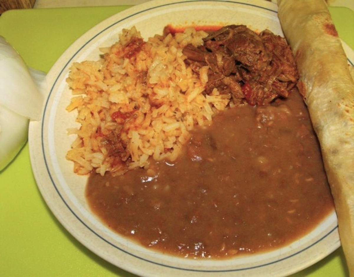 Nothing goes better with Mexican food than refried beans on the side.