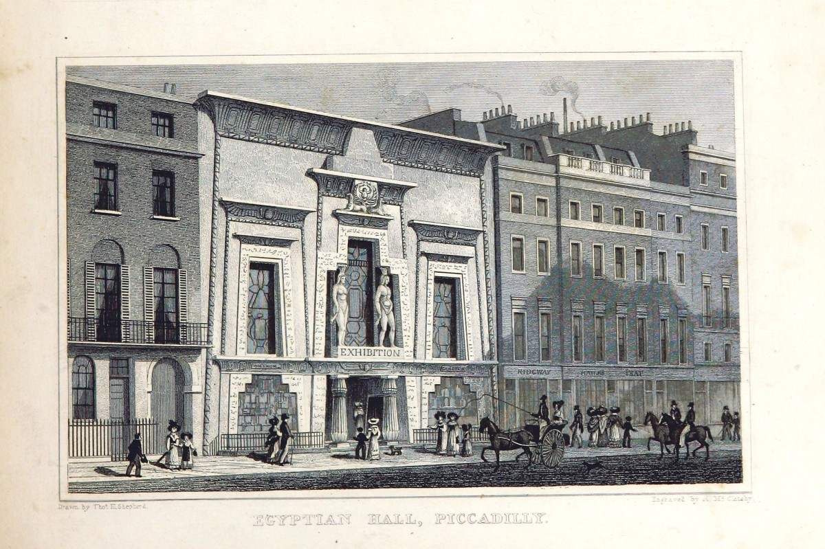 Egyptian Hall Piccadilly