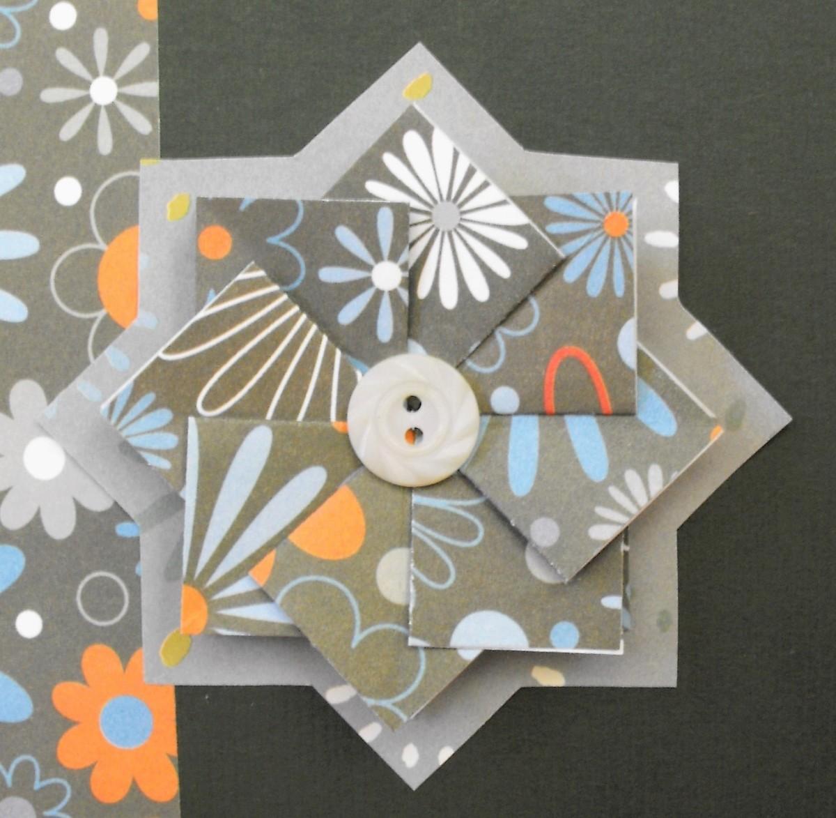 Tea Bag Folding Paper Craft for Children