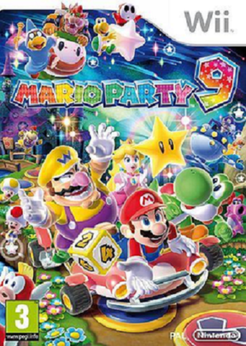 Cover art for Mario Party 9