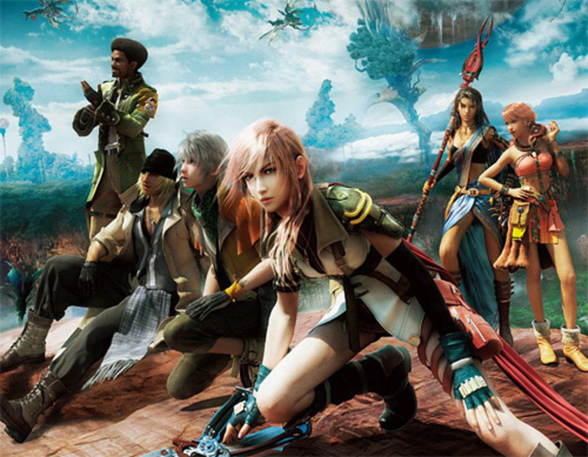 Final Fantasy XIII Cast Members
