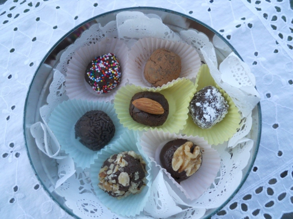 Dark Chocolate Ersatz Truffles Recipe
