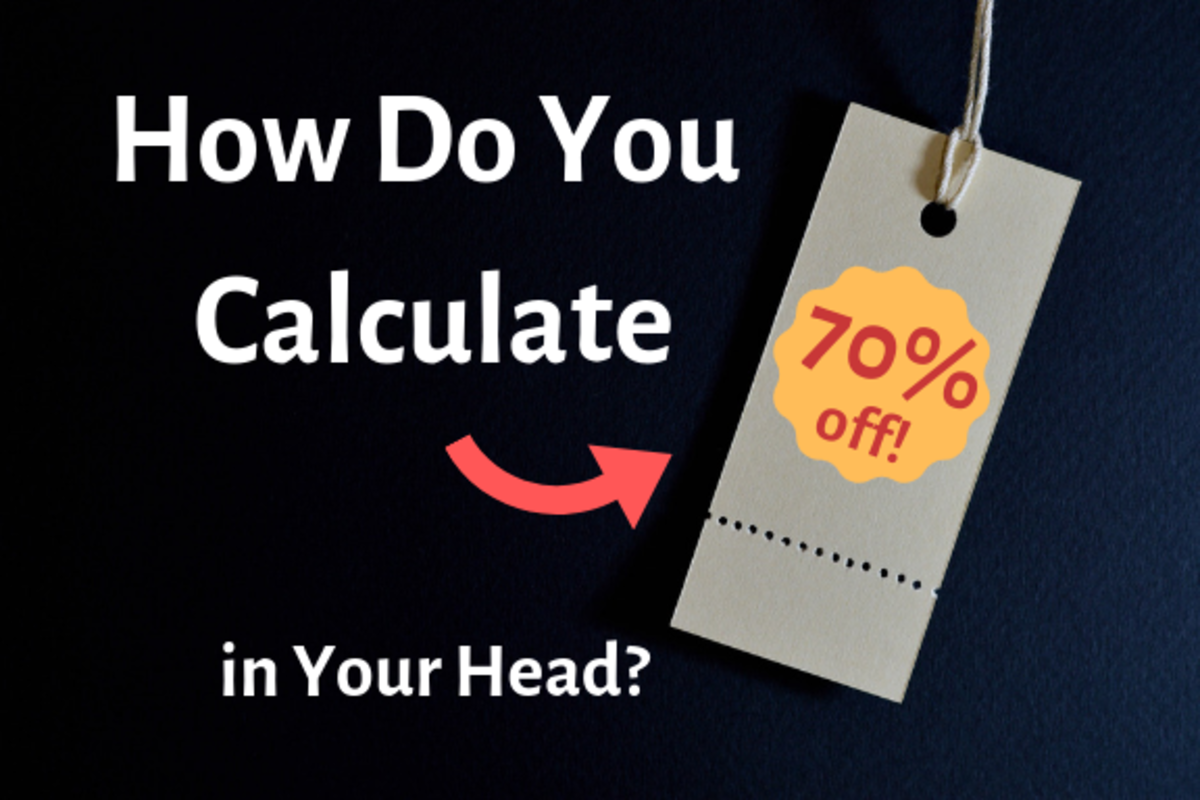 How Much Is 70 Percent Off? (Calculating Percentages in Your Head)