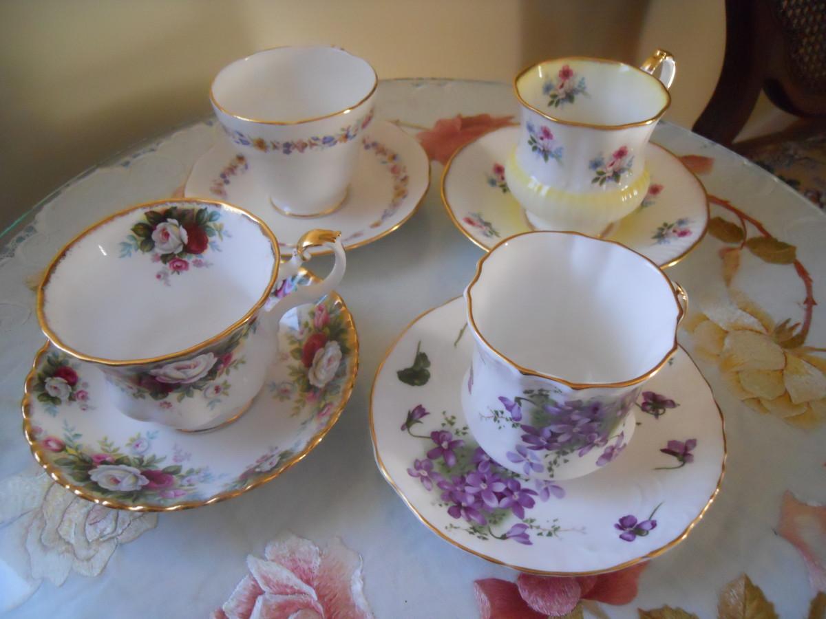 My Vintage Teacup Collection | HobbyLark