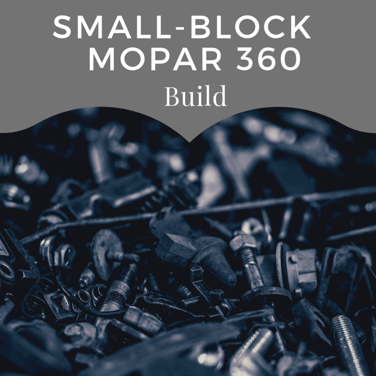 Small-block Mopar 360 build.