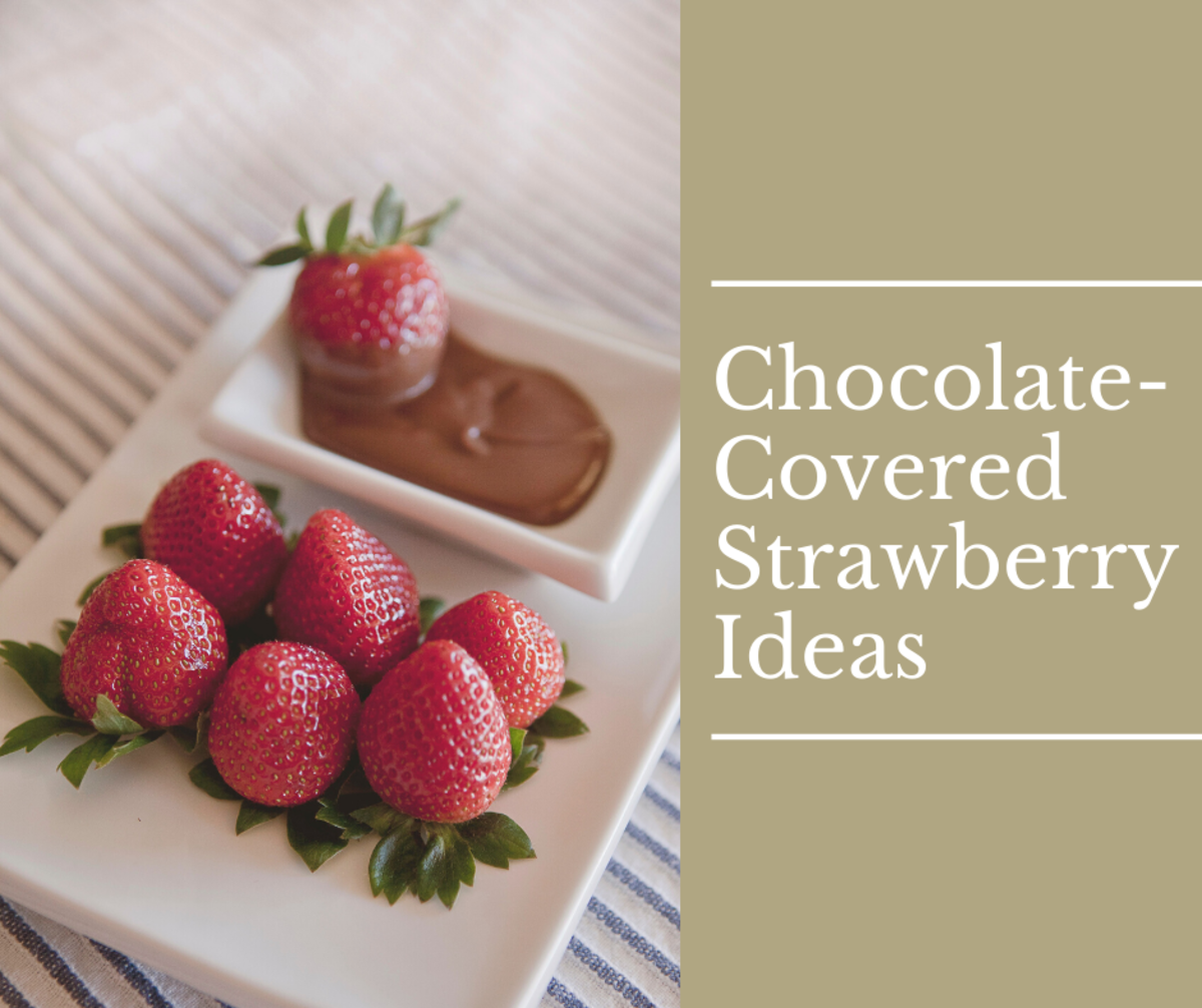 Here are some unique designs for chocolate-covered strawberries.