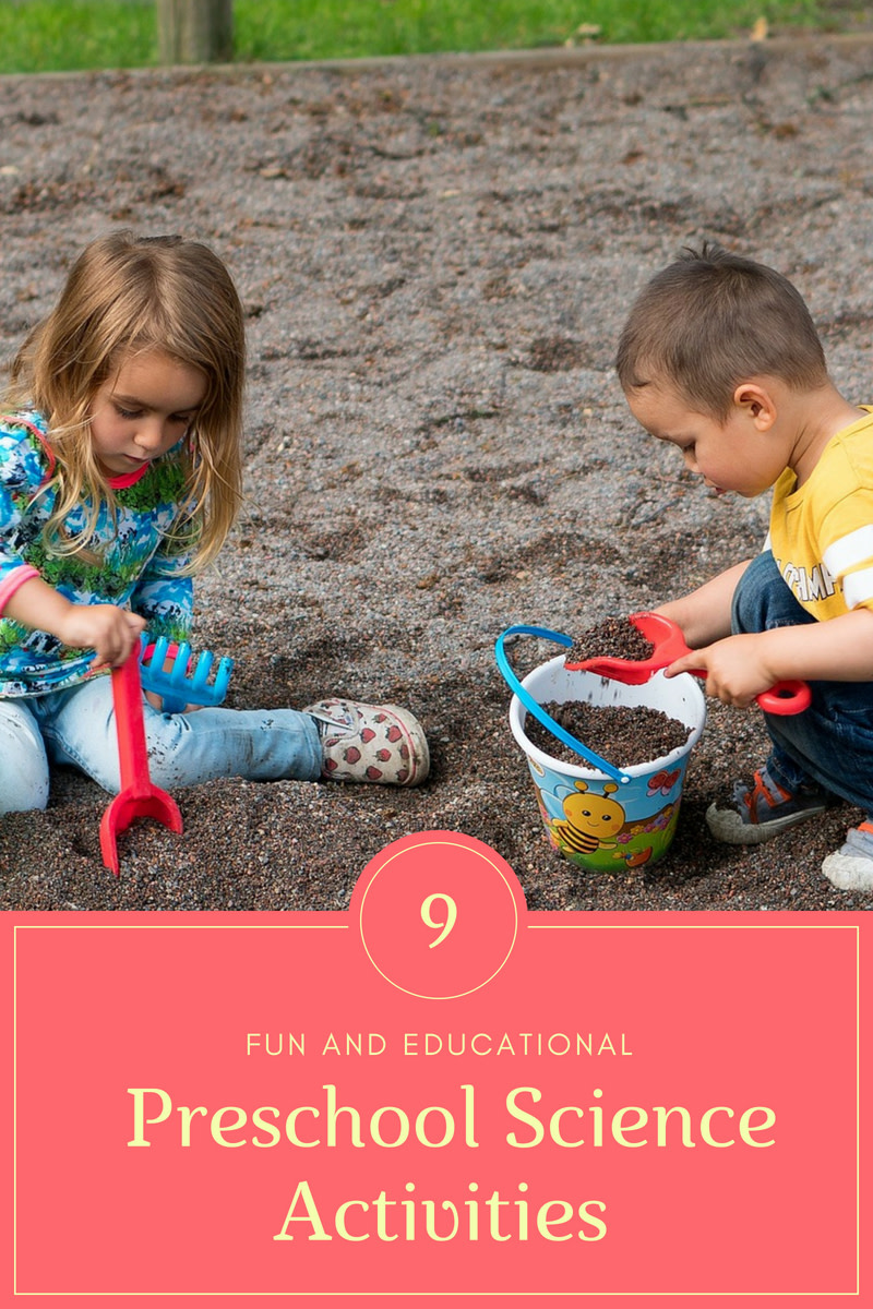 Nine Preschool Science Activities: Science Fun for Kids