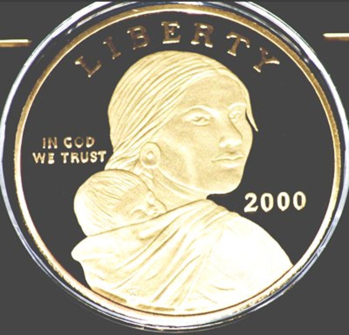 U.S. Sacagawea Golden Dollar