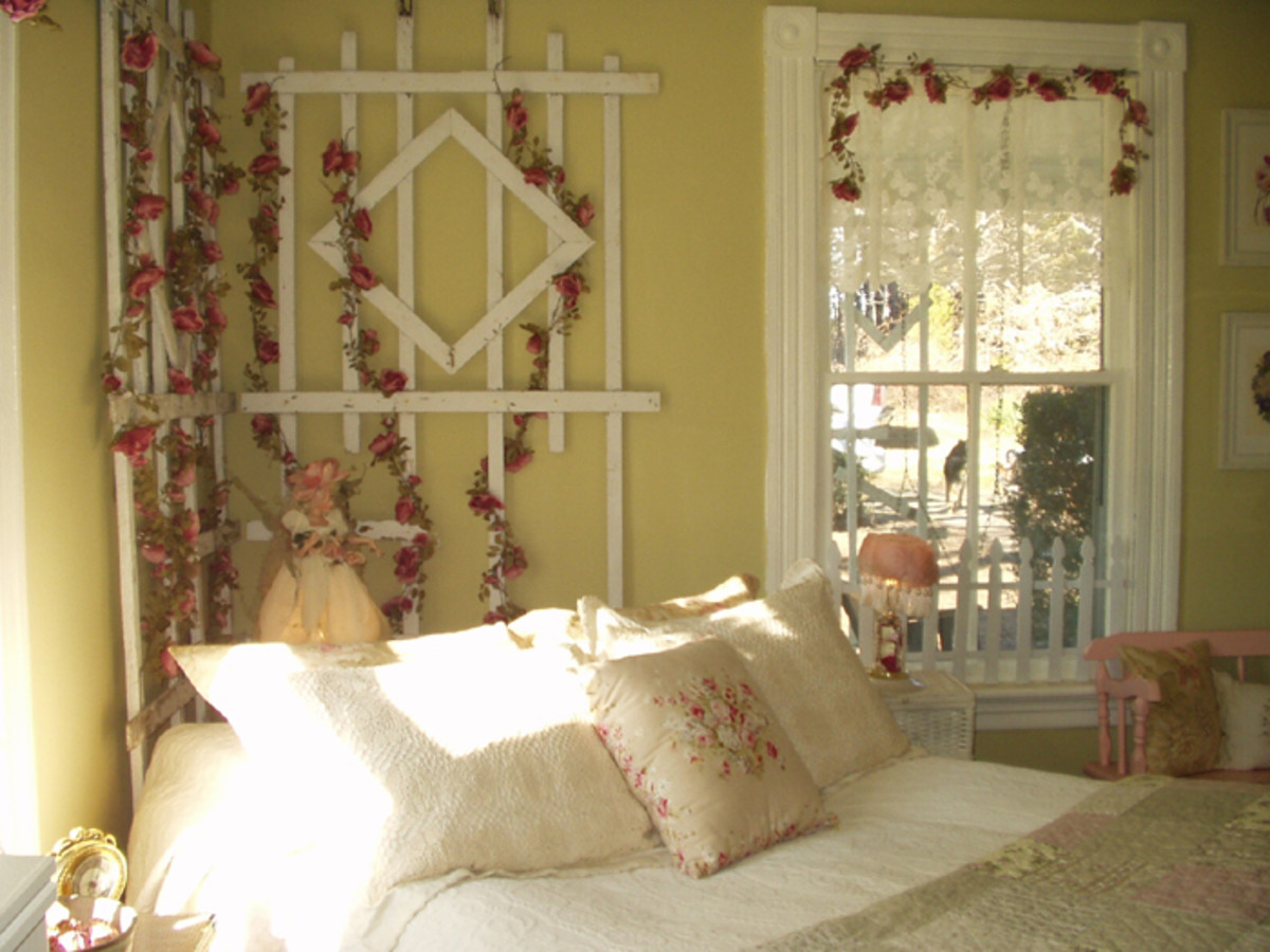 Romantic Cottage Bedroom Decorating Ideas