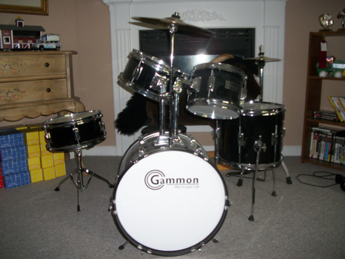 Gammon Junior Drum Set