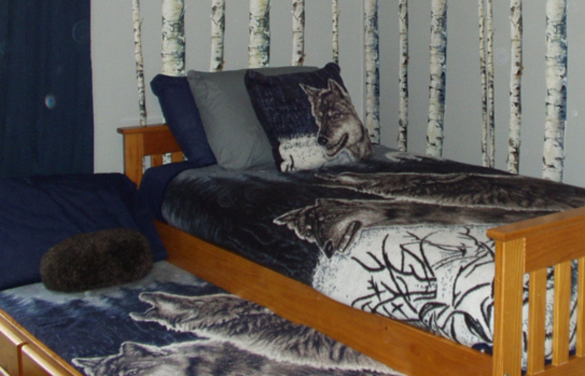 wolf bedroom decor how to decorate a wolf themed bedroom dengarden 13872