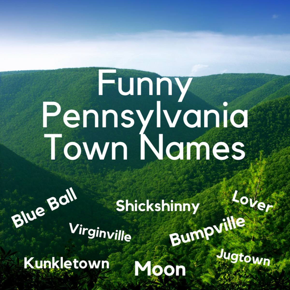 Australia Map Rude Names.Funny Pennsylvania Town Names Wanderwisdom