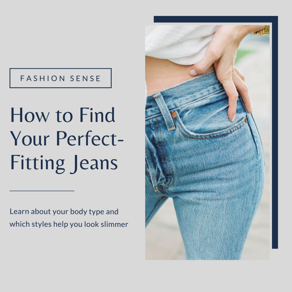 This article will help you learn more about your body type and what styles of jeans will help you look your best.