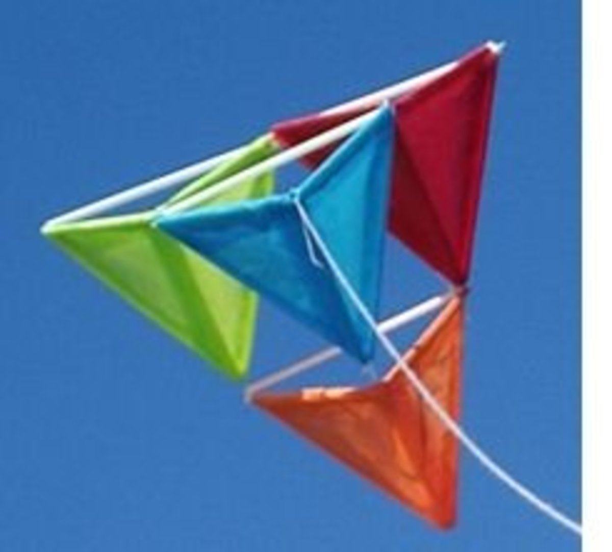 The Tetrahedral Kite: Easy to Make, Easy to Fly!