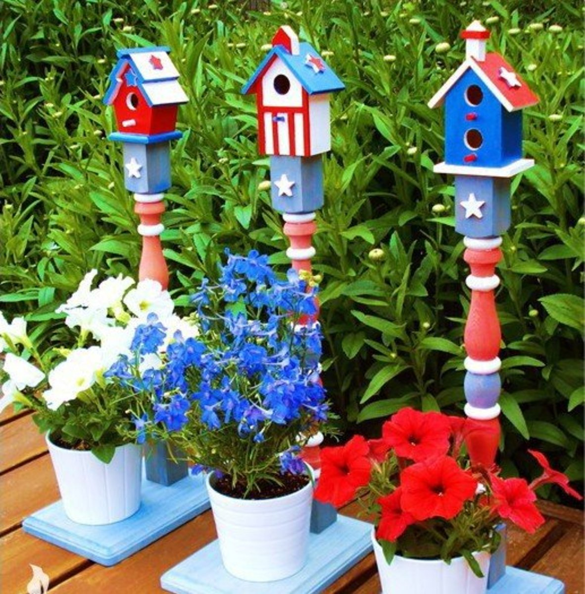 48 Patriotic Craft Ideas: 4th of July and Memorial Day