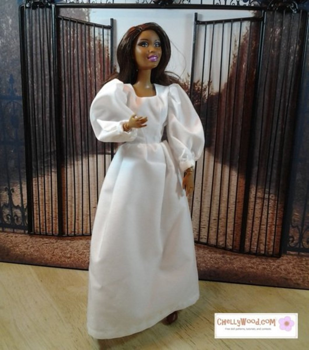 photograph about Printable Angel Gown Patterns known as 56 Cost-free Doll Garments Behaviors: All Dimensions FeltMagnet