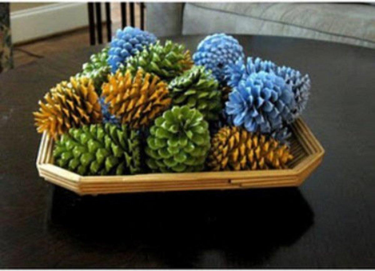 38 Remarkable Pinecone Crafts Feltmagnet Crafts