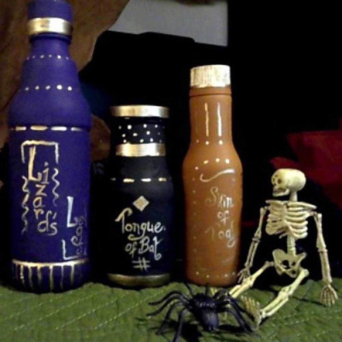 How to Make Witch's Potion Bottles
