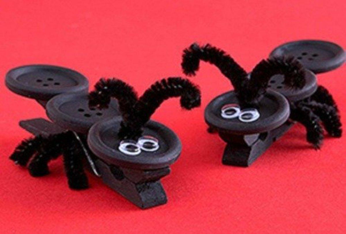 48 Classy Clothespin Craft Ideas Feltmagnet