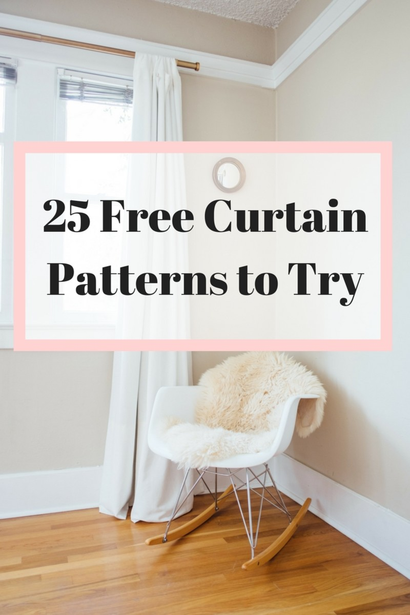 Try these curtain patterns to beautify your home!