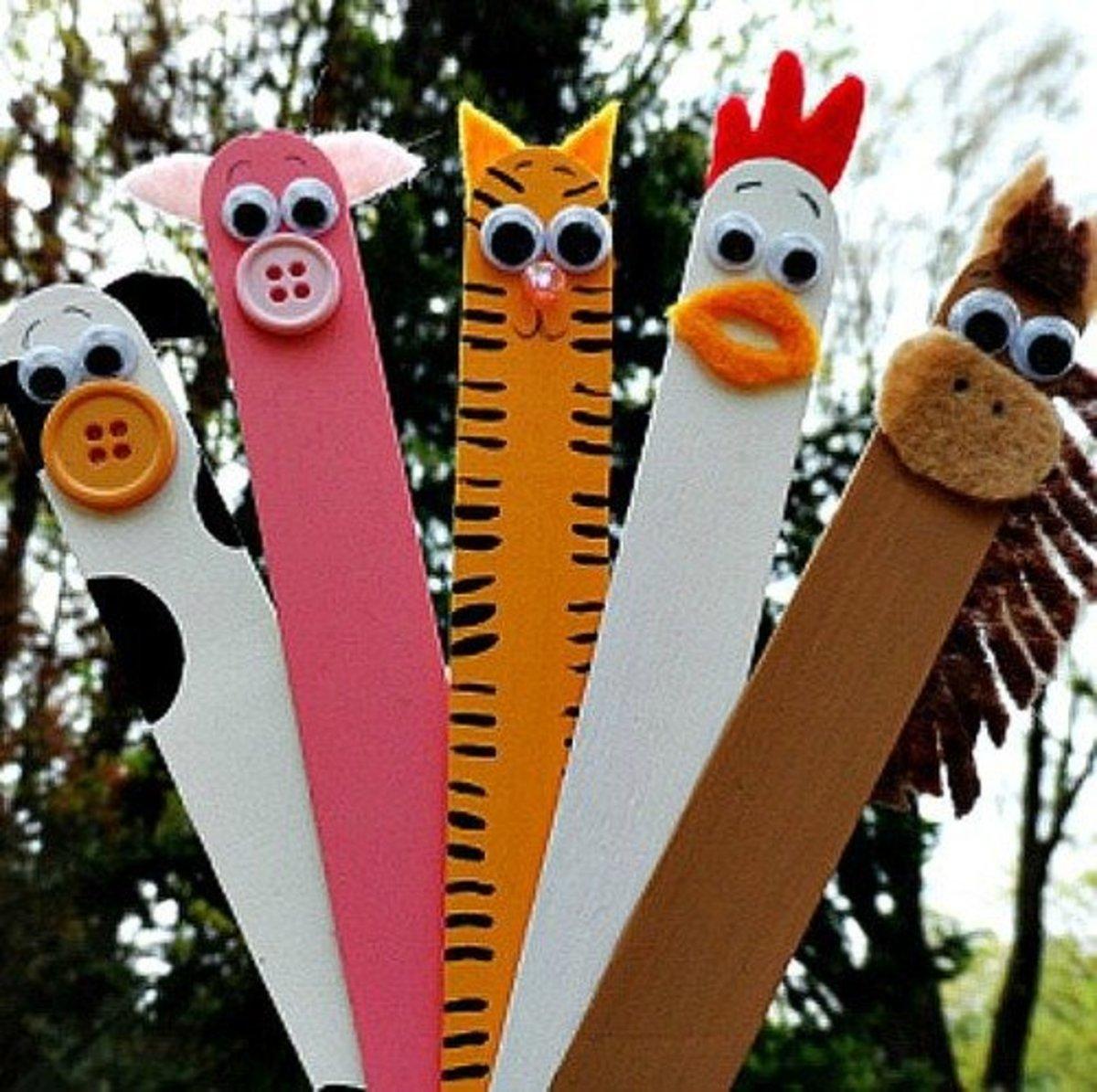 45 Outstanding Popsicle Craft Stick DIY Ideas | FeltMagnet