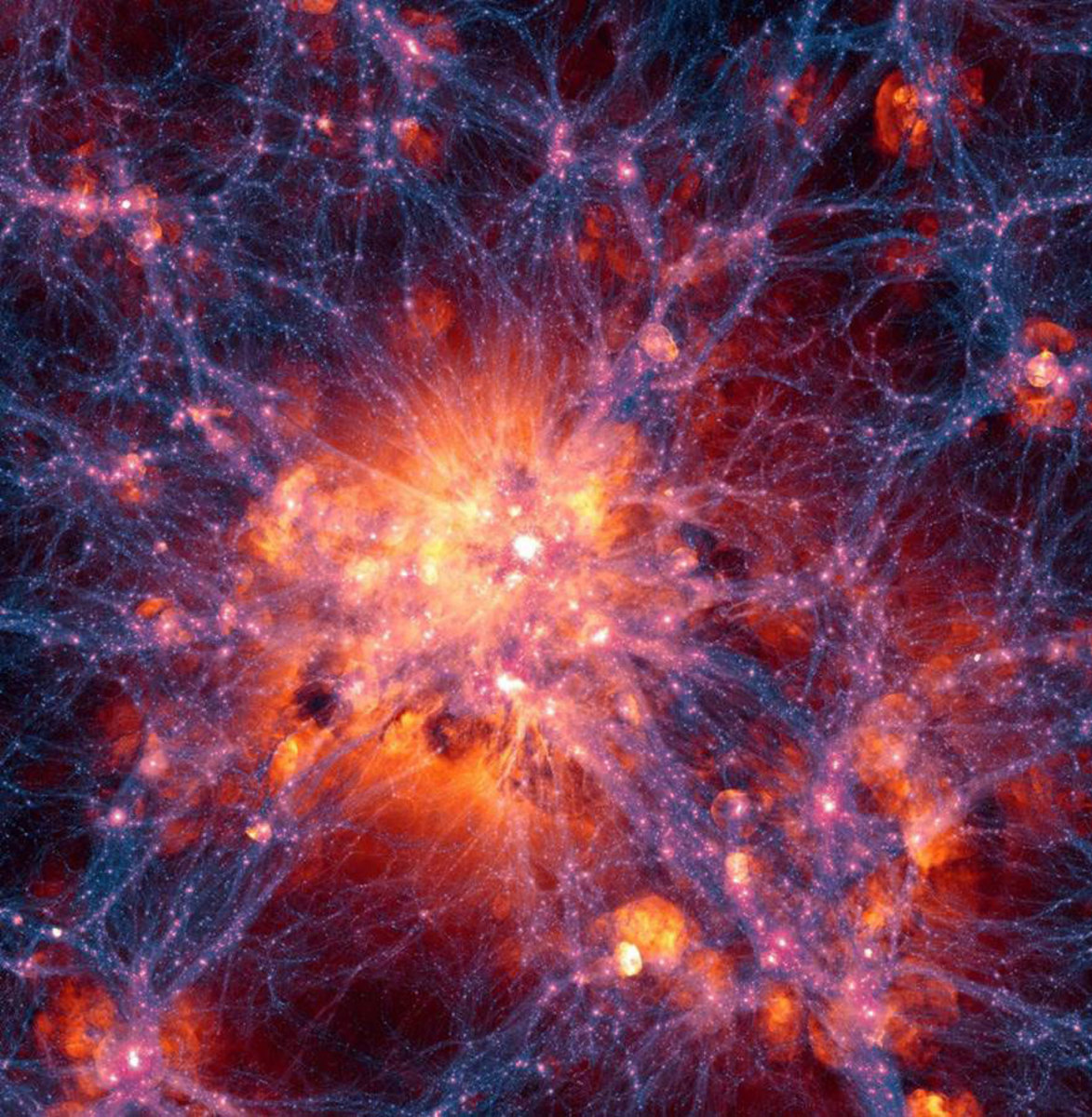 How Was the Cosmic Web Discovered and How Do Psuedo Polyhedrons Relate to It?