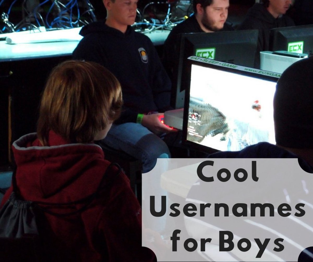 Cool Usernames for Boys