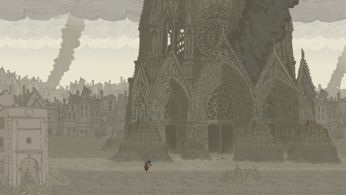 Valiant Hearts Walkthrough, Chapter One, Part Four: Reims