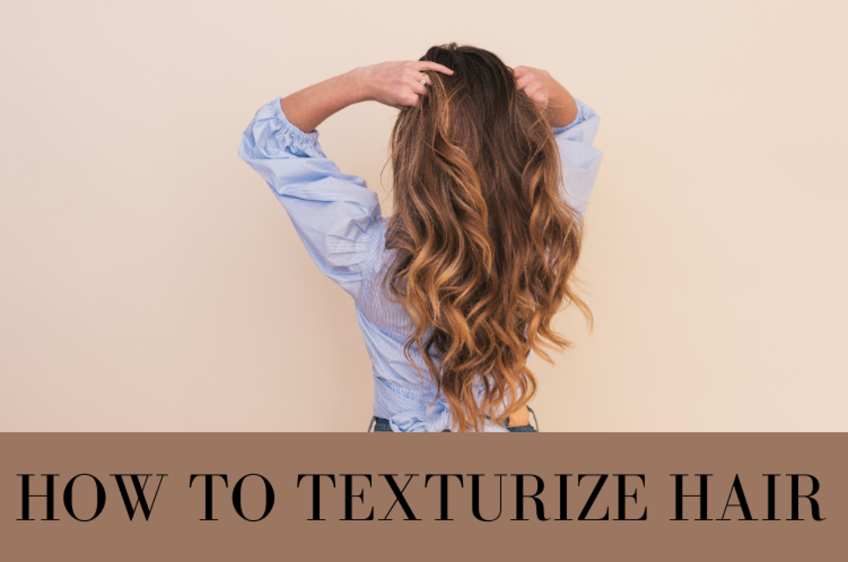 Textured hair will make heads turn.