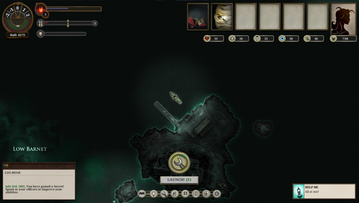 Sunless Sea Walkthrough: Hunter's Keep