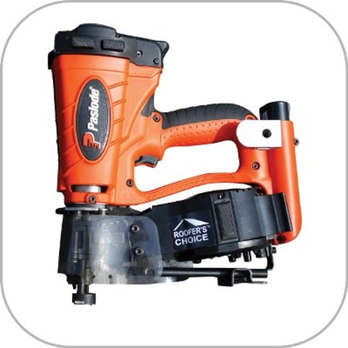 Paslode cr175 c cordless roofing nailer (coil magazine).
