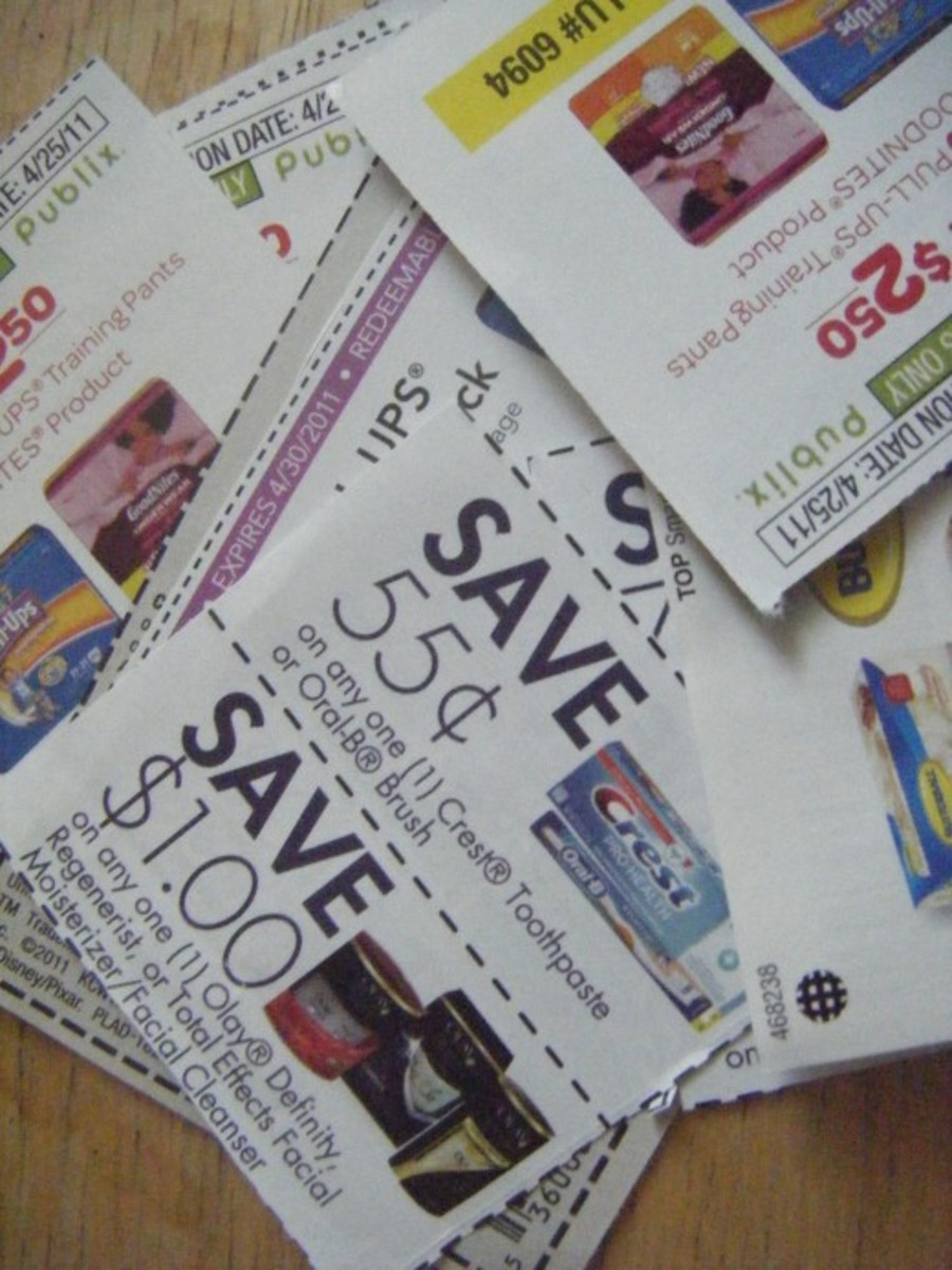 To use your coupons effectively, you need to save and organize them in an efficient manner.  Buying a coupon organizer is usually a great investment that will save you lots of money in the long term.