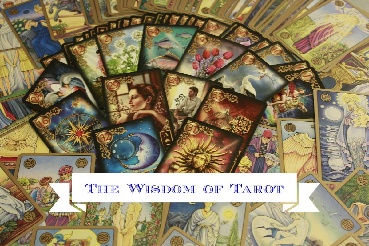 Tarot cards are much more than fortune telling. They are for personal insight.
