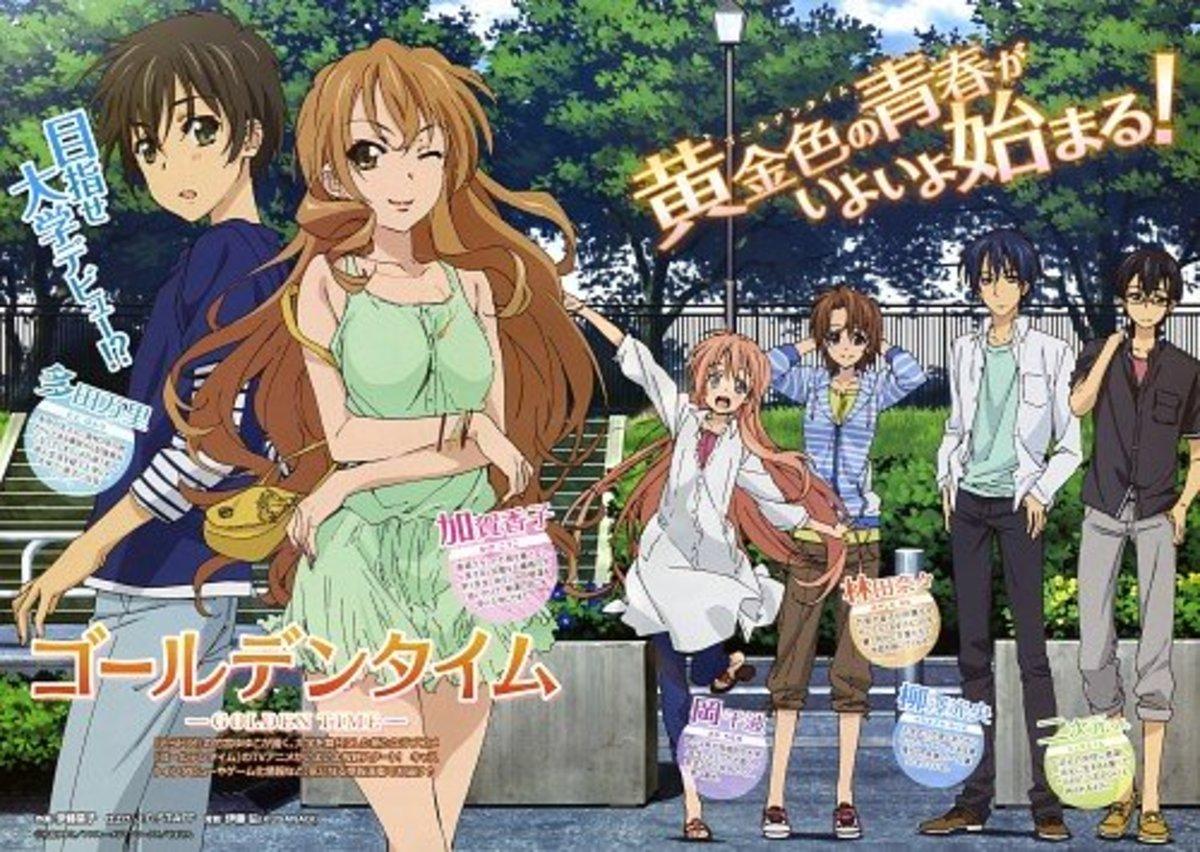 Animes Similar to Golden Time