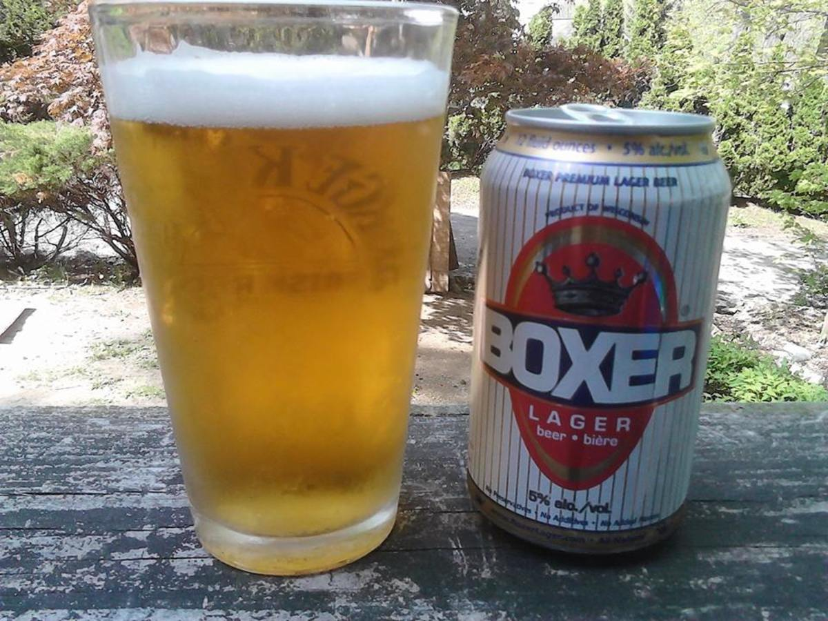 Bad Beer Alert: BOXER Lager