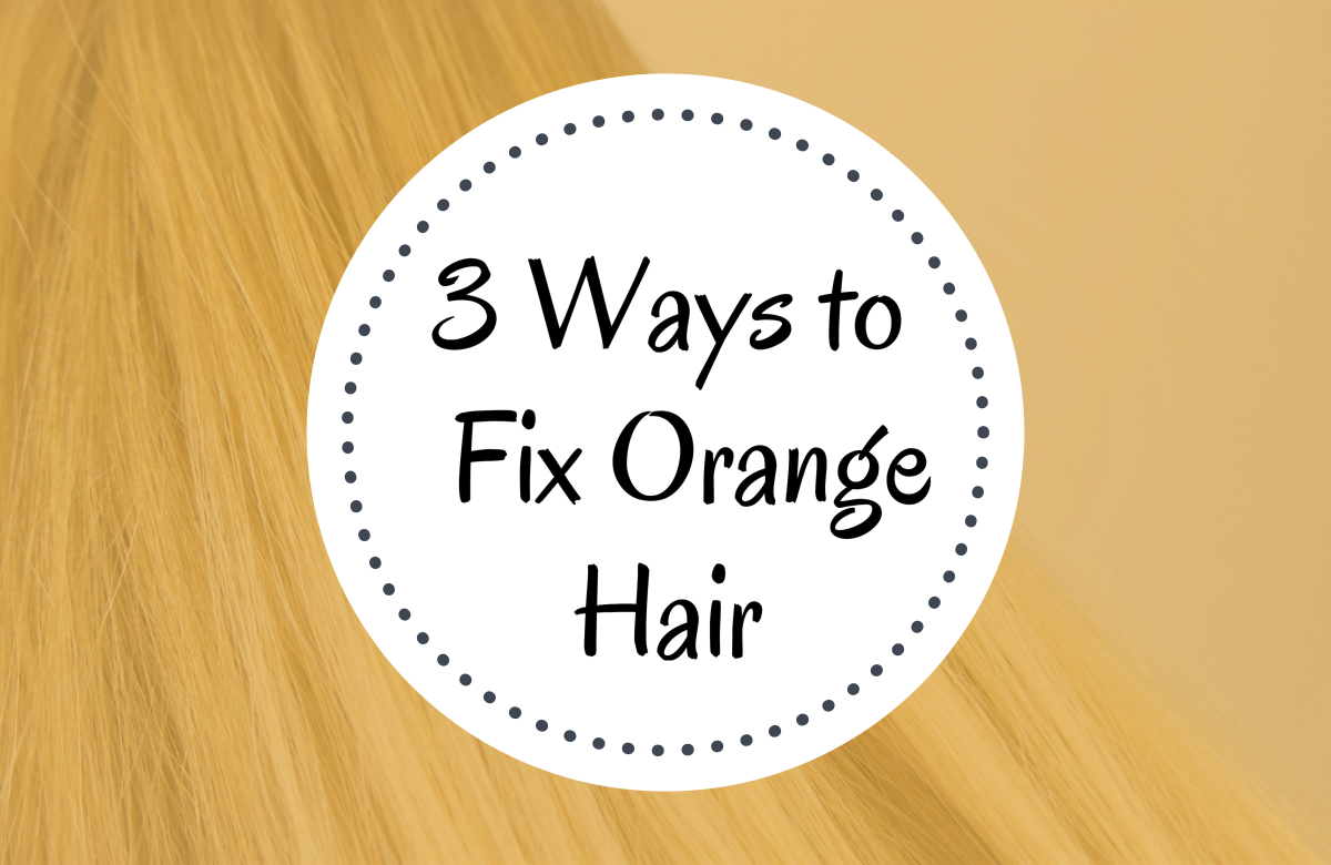 Color Correction: How to Fix Orange Hair