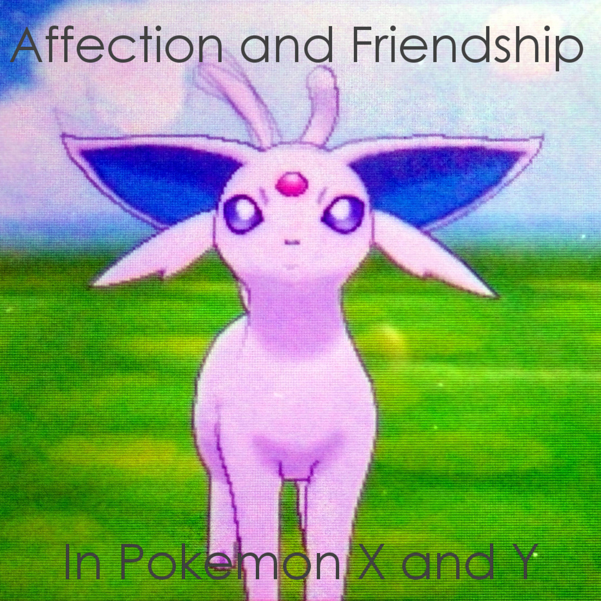 Affection and Friendship in Pokémon X and Pokémon Y