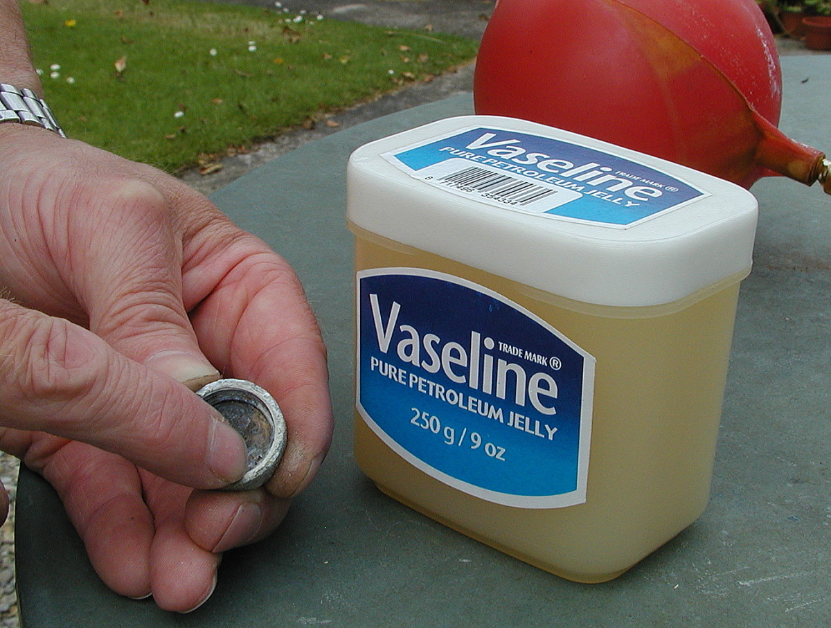 Smear a little Vaseline on the threads