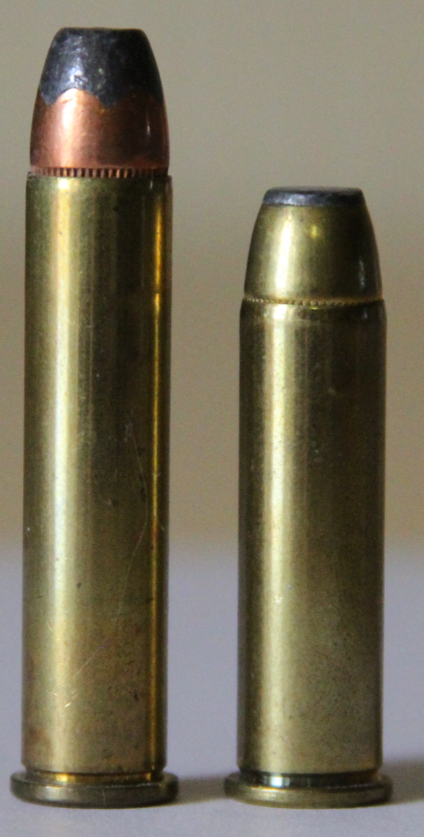 357 Rem. Max. (left) vs. .357 Magnum (Right)