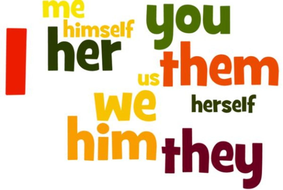 Grammatical Functions of Pronouns