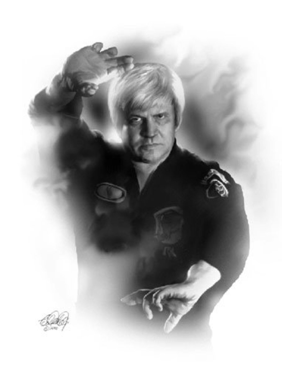 The late Grandmaster Ed Parker, founder of Ed Parker's Kenpo Karate, also known as American Kenpo.