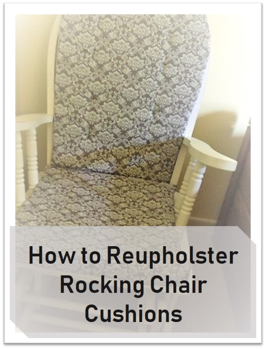 How To Make Or Repair Rocking Chair Cushions Dengarden
