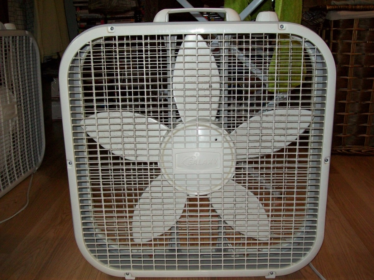 A box fan is a fairly simple appliance that doesn't require much expertise to learn how to clean.