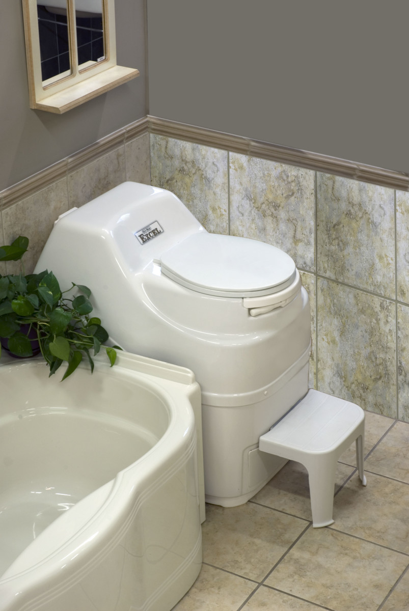 Sun Mar Composting toilet.