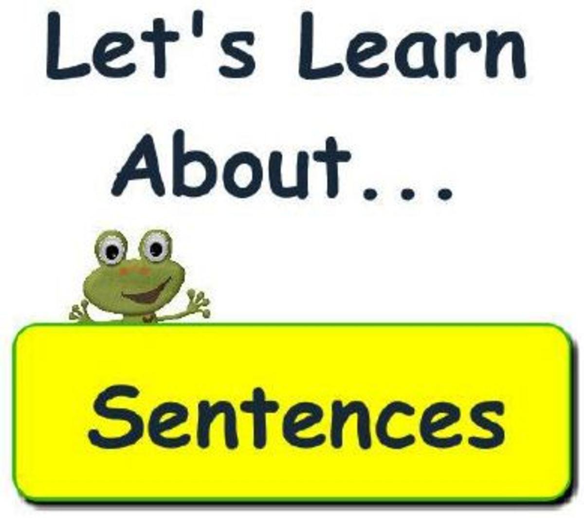 Types Of Sentences By Myvenn