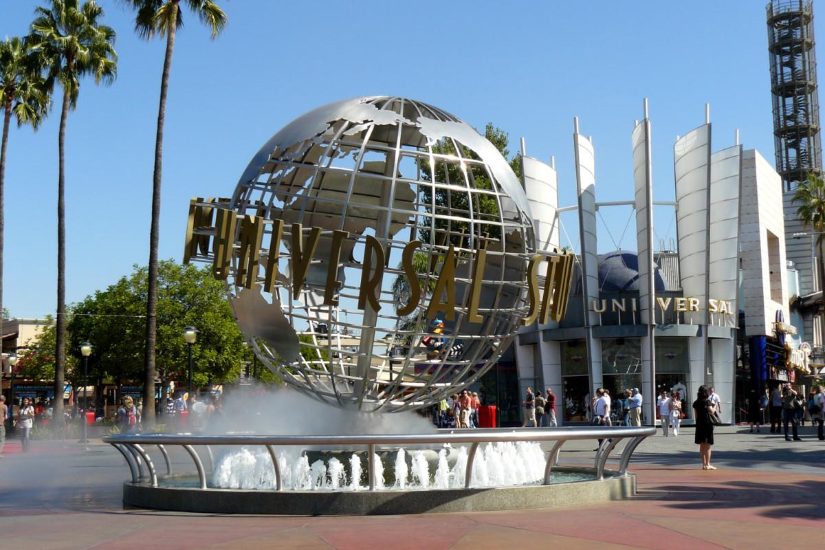 The iconic Universal Studios.