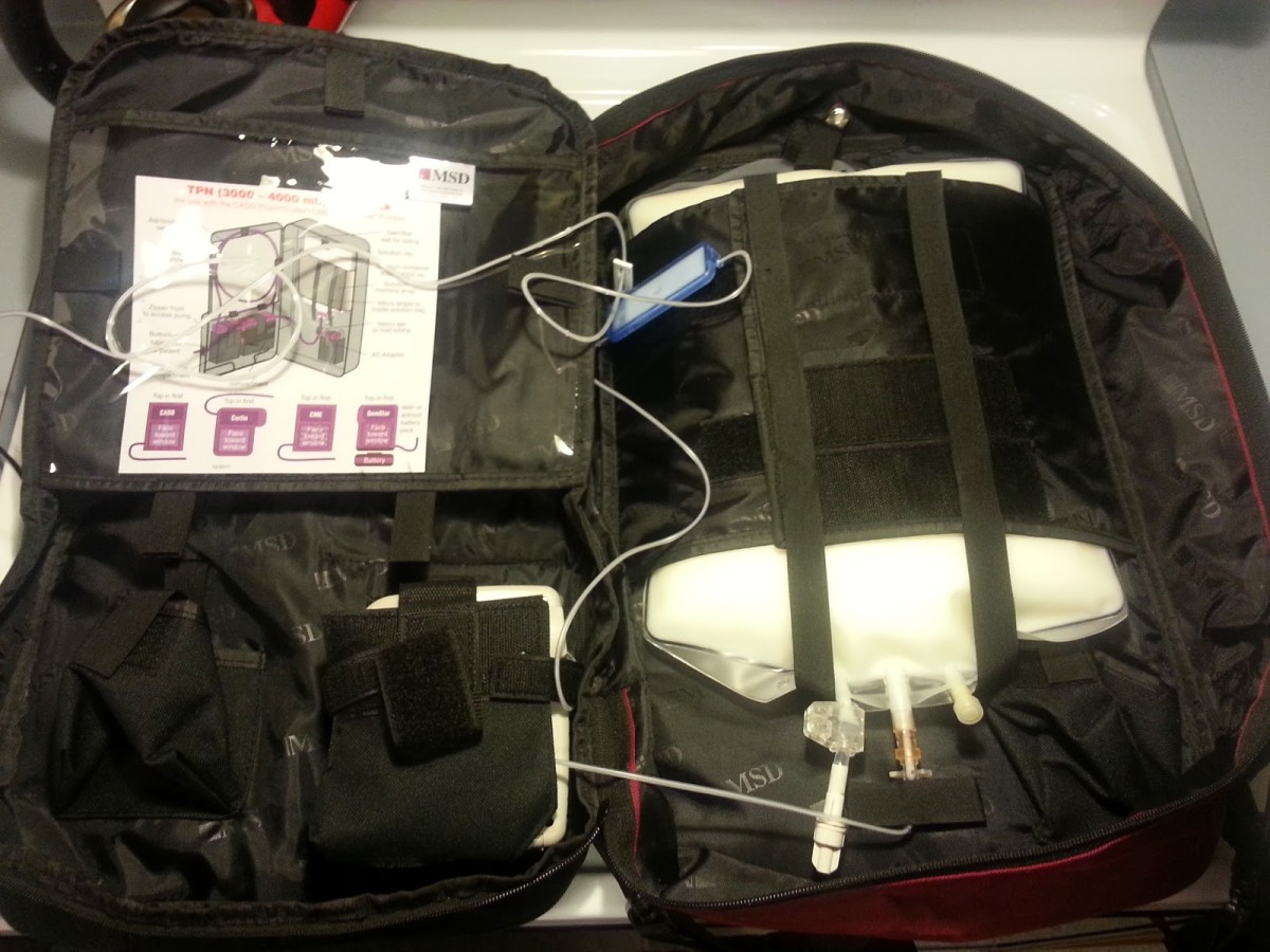 TPN In Backpack For Mobility