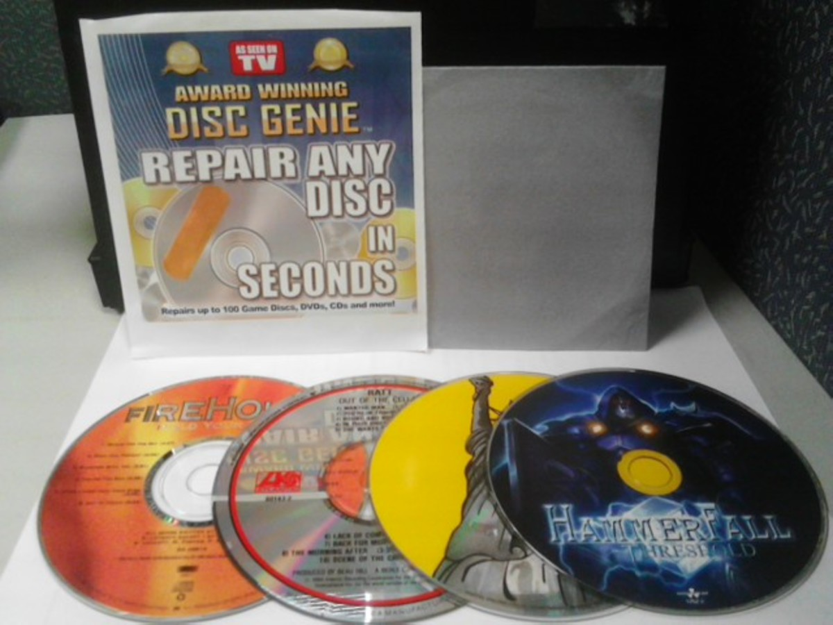 Does the Disc Genie Repair Kit Work?